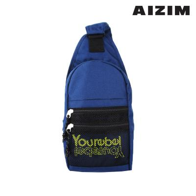 AIZIM 데일리 슬링백 운동 패션 가방 ASM009MNB
