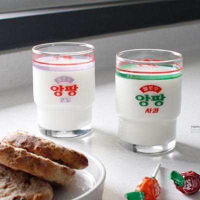 [2HOT] 서울우유 레트로 굿즈 앙팡 키즈컵