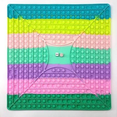 대형 40cm 주사위 게임 보드 푸쉬팝 팝잇 틱톡 뽁뽁이