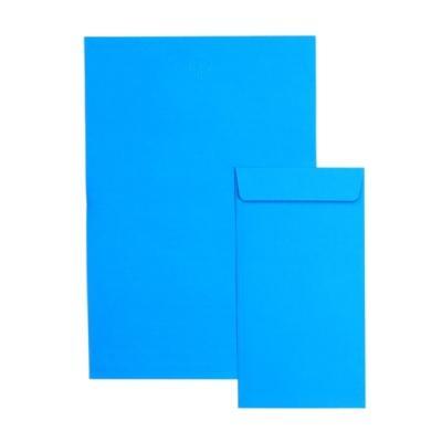1000 컬러풀편지지 - 파랑