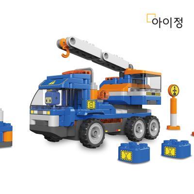 파이블럭 5종변신 크레인 장난감 세트