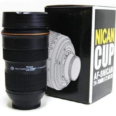 카메라 렌즈 텀블러 AF 물병 커피 병