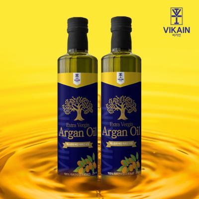 비카인 100% 모로코산 식용 아르간오일 250ml x 2병