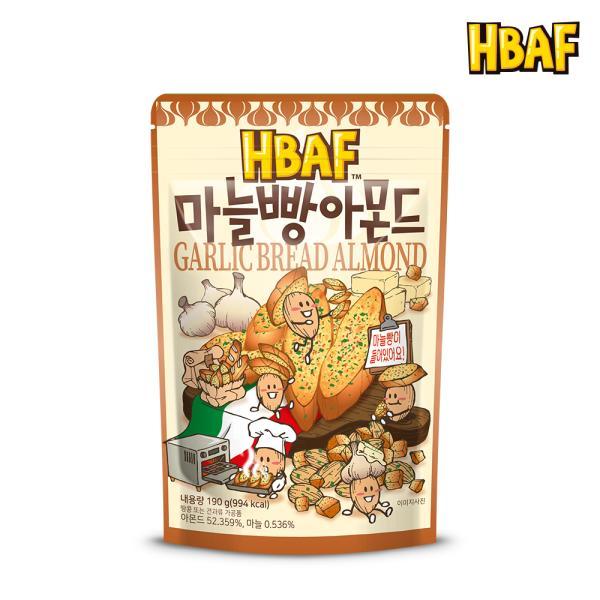 [길림양행]마늘빵 아몬드 210g
