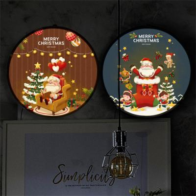 nh680-LED액자35R_산타와신나는크리스마스