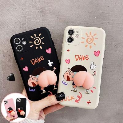 아이폰11 PRO MAX 소년 엉덩이 모찌 실리콘 폰케이스