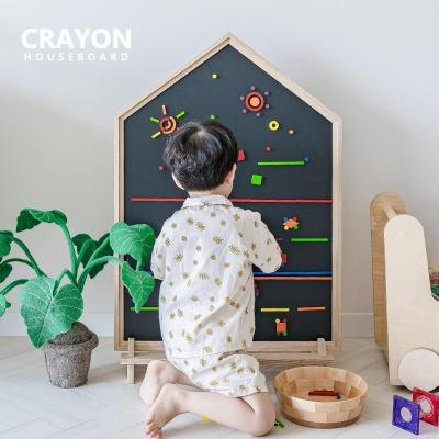 [런칭세일] 꼬메모이 크레용 하우스 보드 유아 칠판
