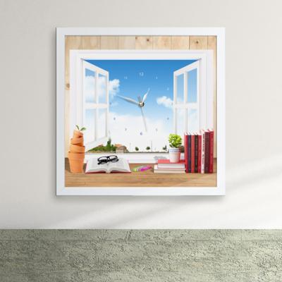 iw070-창가속나만의공간액자벽시계_디자인액자시계
