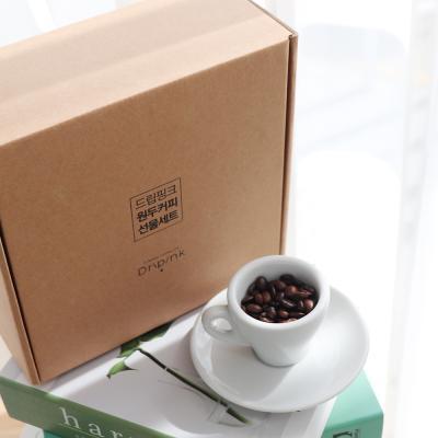 드립핑크 갓볶은 디카페 원두커피 선물세트