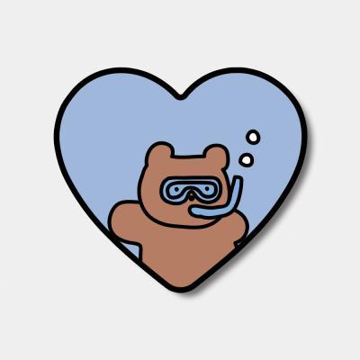 [하트톡] diving gummy