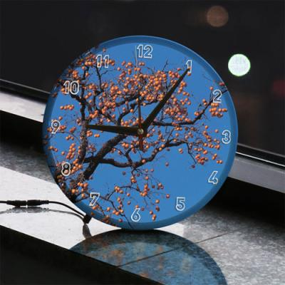 nf735-LED시계액자25R_풍요로운감나무