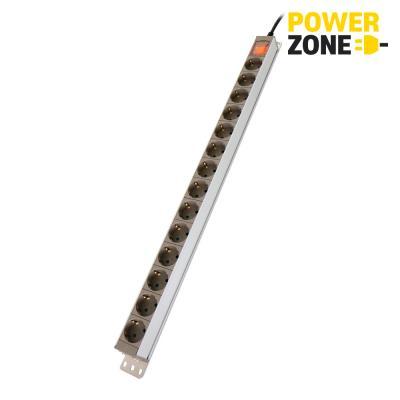 [파워존] 알루미늄 14구 멀티탭