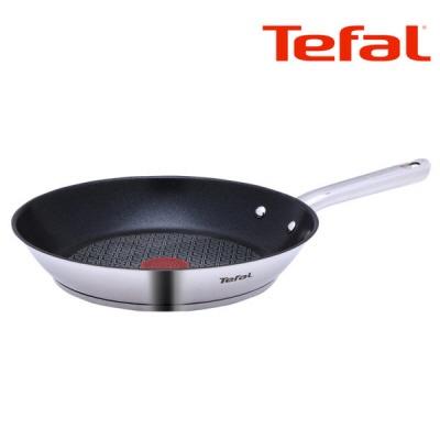 주방명품 Tefal 테팔 듀에또 스테인레스 프라이팬 24cm (단품) [인덕션]