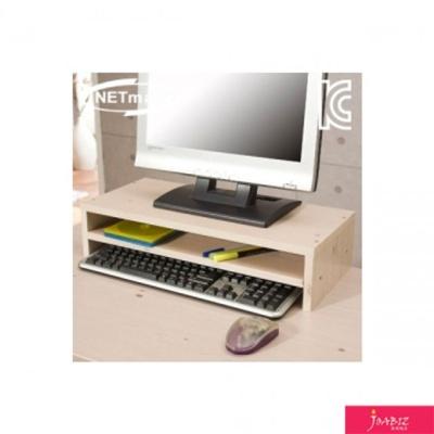 2단 모니터 받침대 (워시) 컴퓨터용품