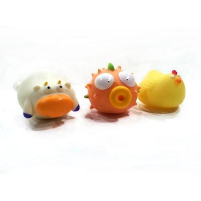 동물 물놀이 단품(닭,소,복어)