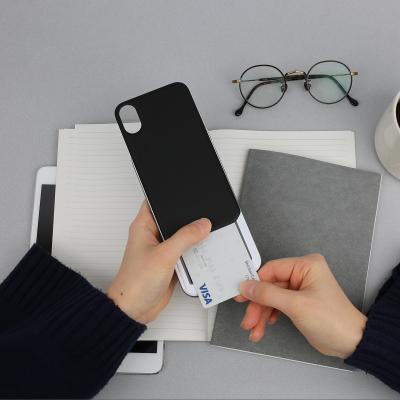 디자인스킨 아이폰XS/맥스/XR/8 슬라이더 카드케이스