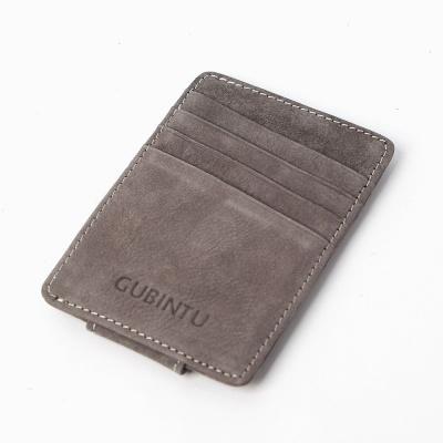 리너플 머니클립 카드지갑(그레이)