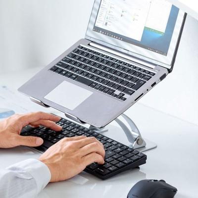 SANWA 알루미늄 노트북 스탠드 거치대
