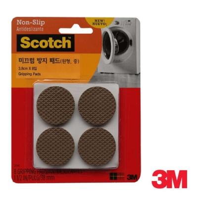 3M 스카치 미끄럼 방지 패드(원형, 중) SP940