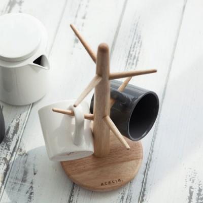 [N365] 홈 우드 컵걸이
