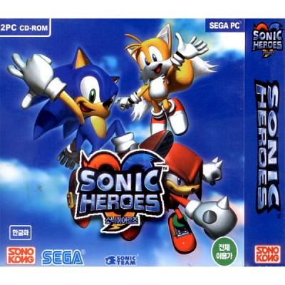 [PC-CD] 소닉 히어로즈 (Sonic Heroes)