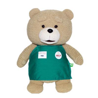 19곰테드 TED2 영화 속 테드 곰인형 선물 35cm-그린
