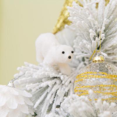 34 북극곰 장식 (4set)