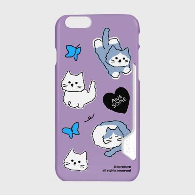 Awesome cat-purple(카드수납케이스)