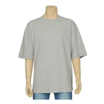 남성 여성 여름 데일리 반팔 티셔츠 스티치 빅 컬러티