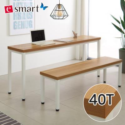 [e스마트] 스틸헤비 테이블 1600x400 (일자다리)