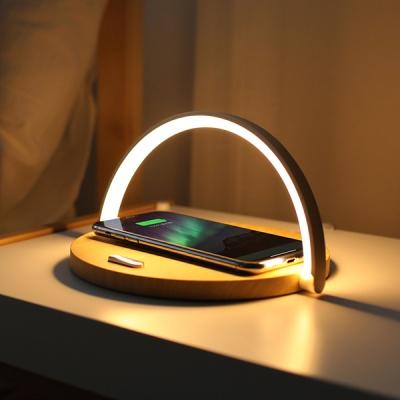 [무아스] 모던심플 고속 무선충전 LED 무드등 조명