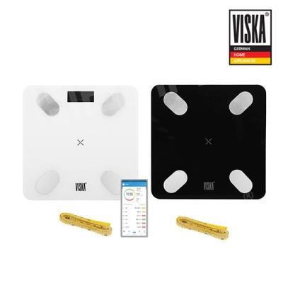 비스카 블루투스 체지방 체중계 VK-S1 (줄자포함)