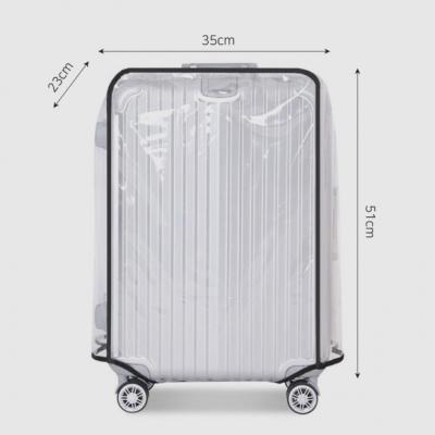 투명 방수 캐리어커버(20형)