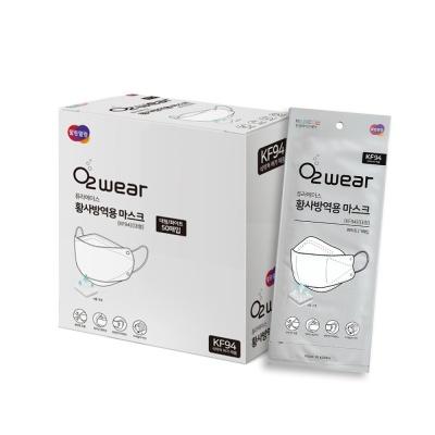 [퓨라에이스] 오투웨어 KF94 식약처 인증 마스크 50매