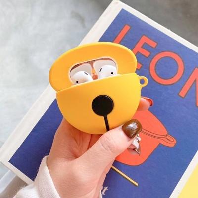 귀여운 실리콘 방울 에어팟 1세대 2세대 케이스
