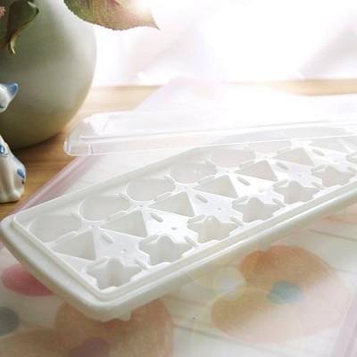 WHITE 하트별 모양 얼음틀
