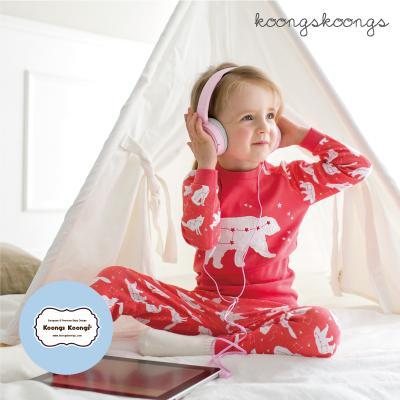[긴팔실내복]북극곰실내복(코랄) 유아실내복 아동실내복