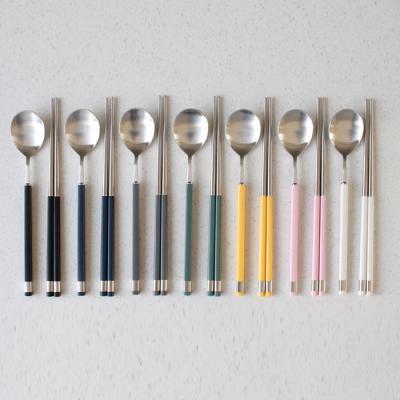 (카라 실버) 숟가락or젓가락 - 7color(택1)