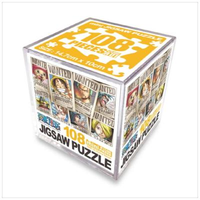 원피스 직소퍼즐 미니 Cube 108pcs: 현상수배