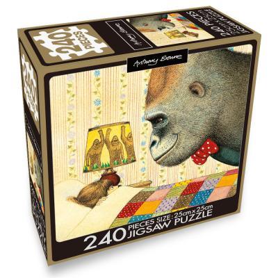 앤서니 브라운 240pcs 직소퍼즐 : 나와 고릴라