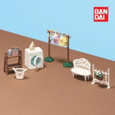반다이 하코룸 세탁실 키트 / 조립 장난감