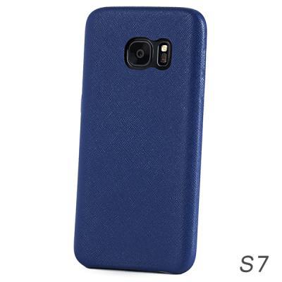 [매니퀸] 사피아노 스마트폰케이스 갤럭시S7 블루