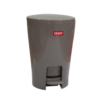 [TATAY] 타타이 디아블로 페달 5L 휴지통(브라운)