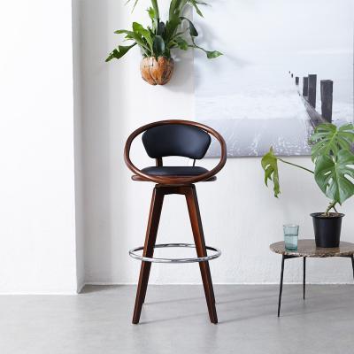 [리비니아][무료배송]대나무 스핀 바의자(202B)