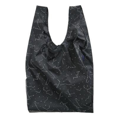 [바쿠백] 대형 빅사이즈 에코백 Black Constellation
