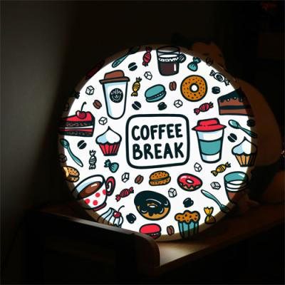 no185-LED액자45R_커피브레이크