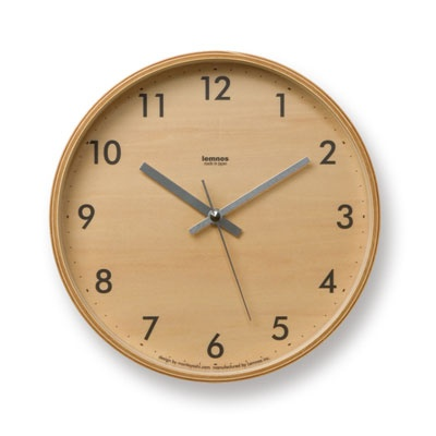 LEMNOS [LC04-05S] PLYWOOD CLOCK