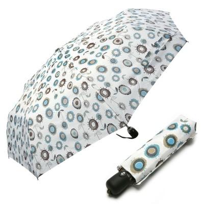 3단 자동 우산(양산겸용) - 유니크플라워