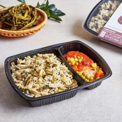 홀리셔스 도시락 시래기표고버섯밥&닭가슴살스테이크 6팩