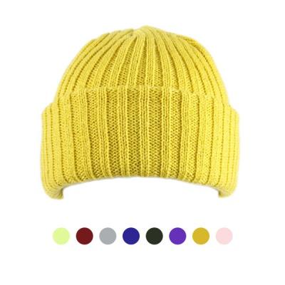 [디꾸보]골지 숏 비니 남녀공용 모자 ET744